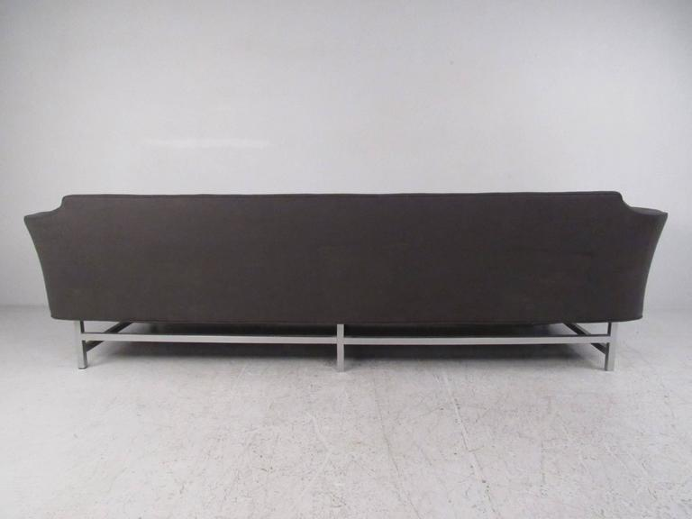 20th Century Long Modern Sofa For Sale