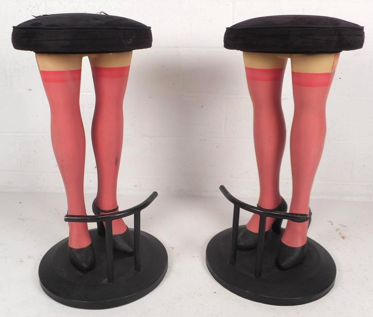 Unique Contemporary Modern Quot Legs Quot Bar Stools At 1stdibs