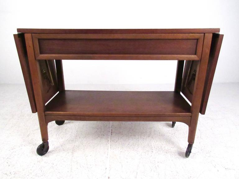 Mid-20th Century Mid-Century Bar Cart by Lane For Sale