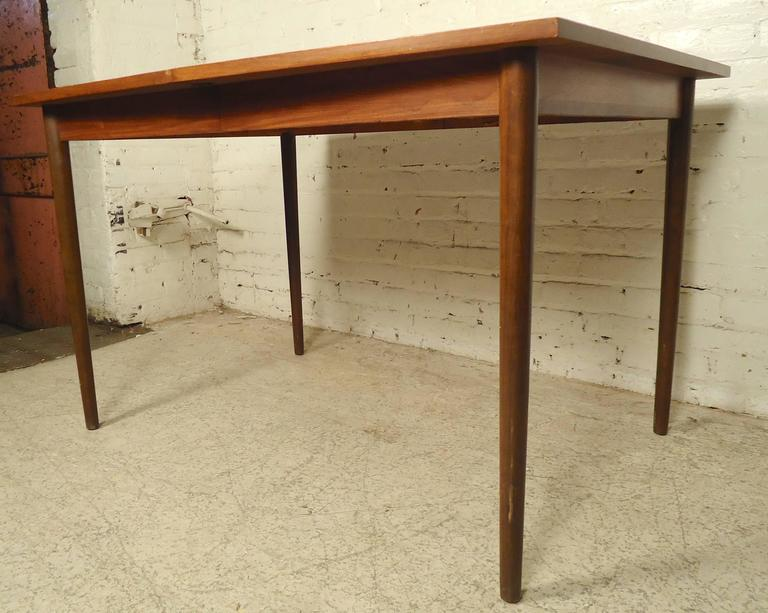 unique shaped mid century dining table for sale at 1stdibs