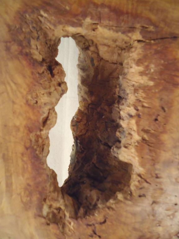 Gorgeous Burl Sculpture by Hap Sakwa (1 of 84) In Good Condition For Sale In Brooklyn, NY