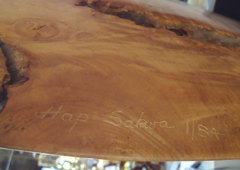 Gorgeous Burl Sculpture by Hap Sakwa (1 of 84) For Sale 3