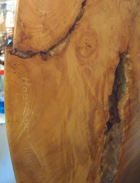 Gorgeous Burl Sculpture by Hap Sakwa (1 of 84) For Sale 2