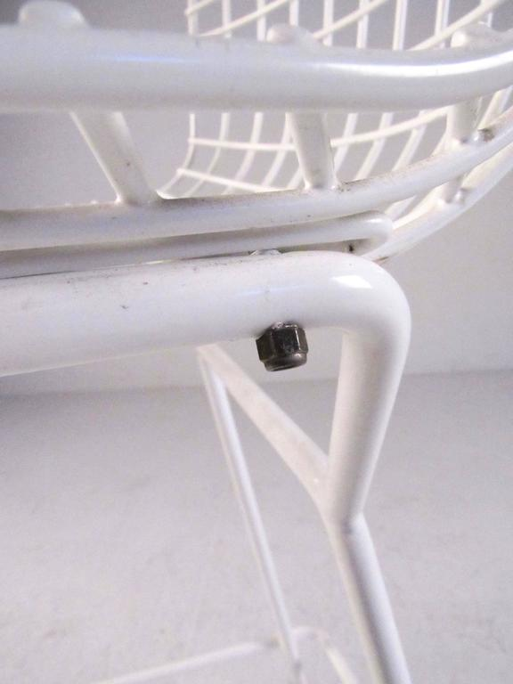 Set of Harry Bertoia Wire Bar Stools by Knoll International For Sale 4