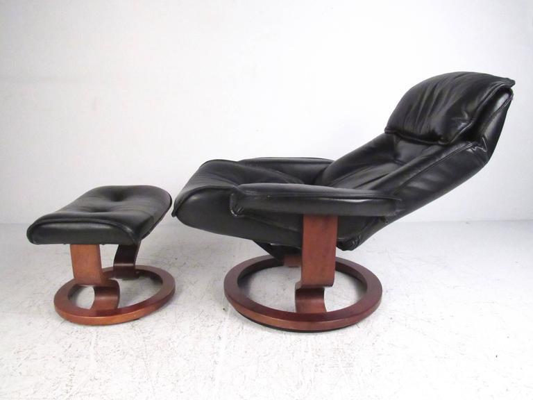 Outstanding Danish Modern Leather Recliner Dailytribune Chair Design For Home Dailytribuneorg