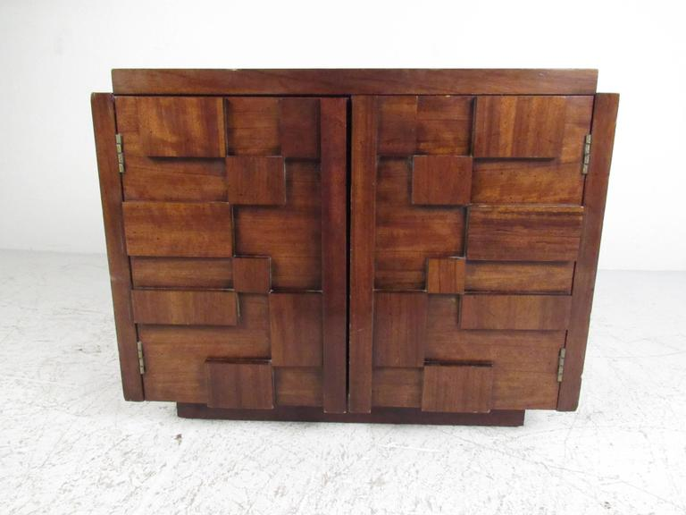 Mid-Century Modern Brutalist Bedroom Set by Lane In Good Condition In Brooklyn, NY