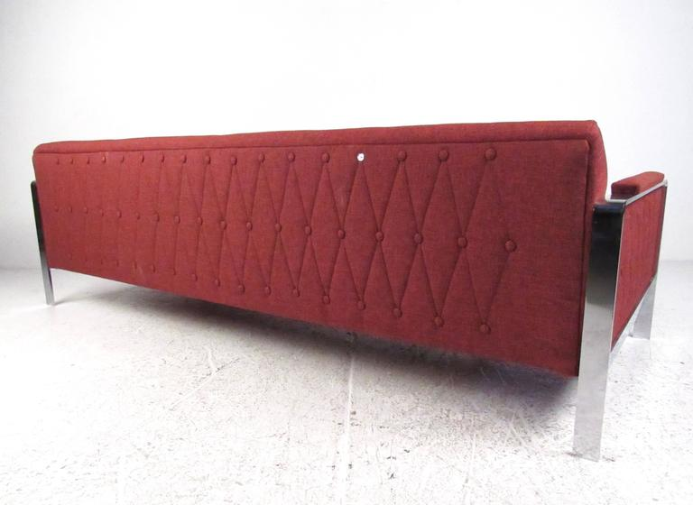 Long and Stylish Contemporary Modern Sofa For Sale 1