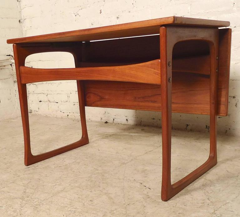 Danish Mid Century Modern Occasional Side Coffee Table Rosewood: Mid-Century Danish Extending Table By J. Ingvard Jensen