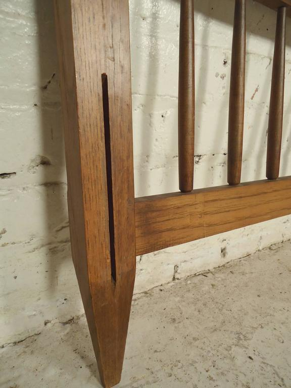 Mid-Century Modern Headboard and Footboard In Good Condition For Sale In Brooklyn, NY