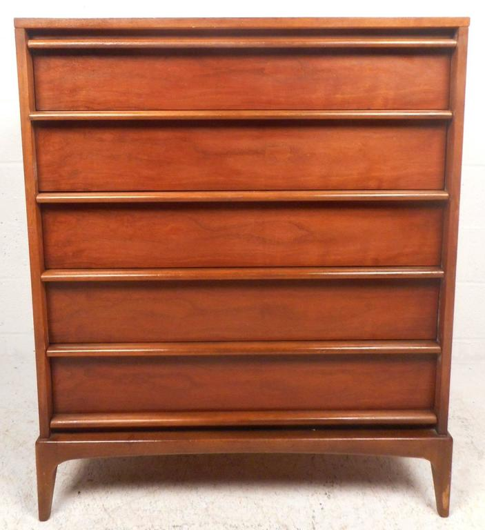 Mid-Century Modern Dresser Set By Lane Furniture At 1stdibs
