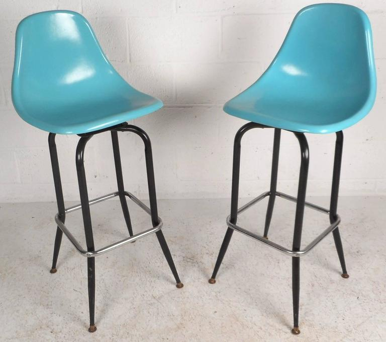 Mid Century Modern Swivel Bar Stools For Sale At 1stdibs