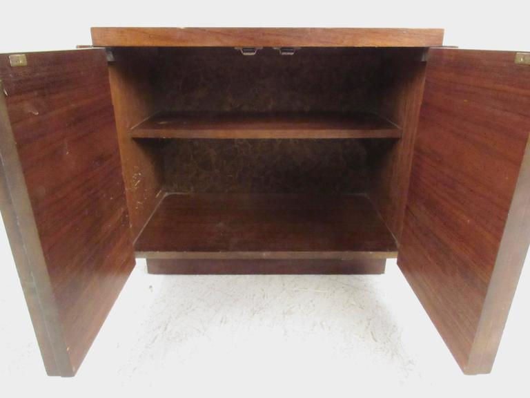 Mid-Century Brutalist Bedroom Set by Lane Furniture In Fair Condition For Sale In Brooklyn, NY