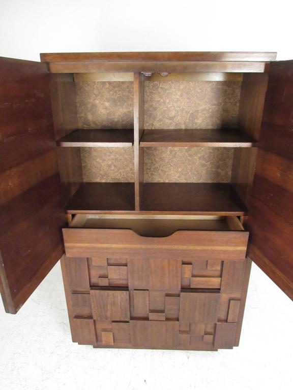 American Mid-Century Brutalist Bedroom Set by Lane Furniture For Sale