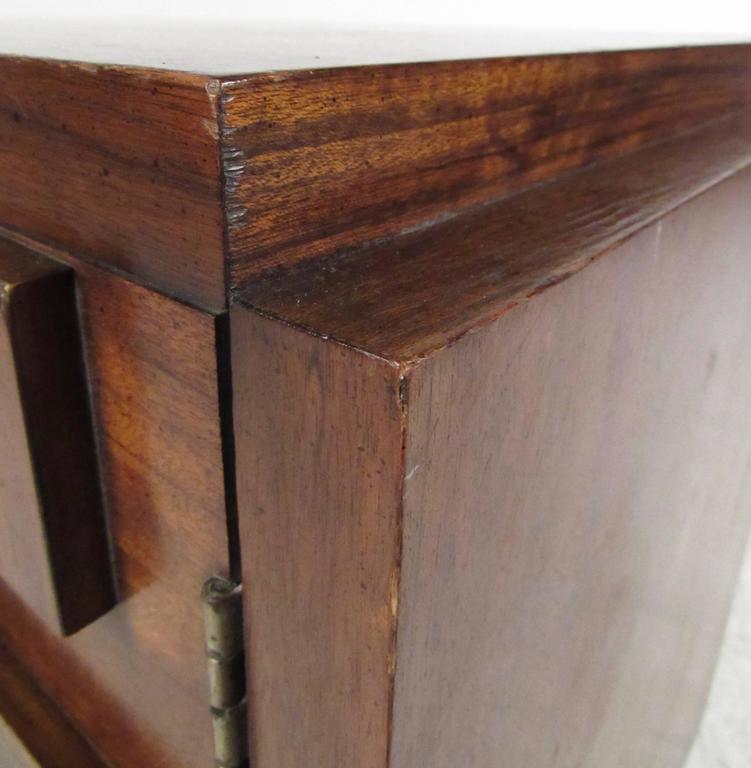 Walnut Mid-Century Brutalist Bedroom Set by Lane Furniture For Sale