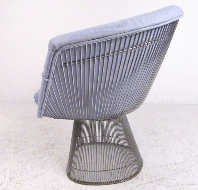 Pair of Vintage Modern Warren Platner Lounge Chairs for Knoll 4
