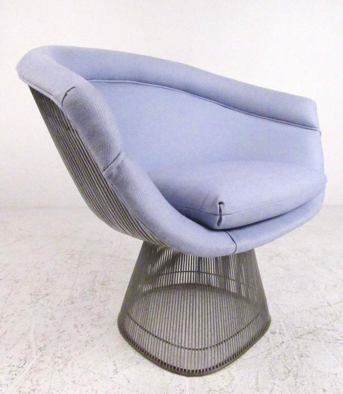 Pair of Vintage Modern Warren Platner Lounge Chairs for Knoll 2