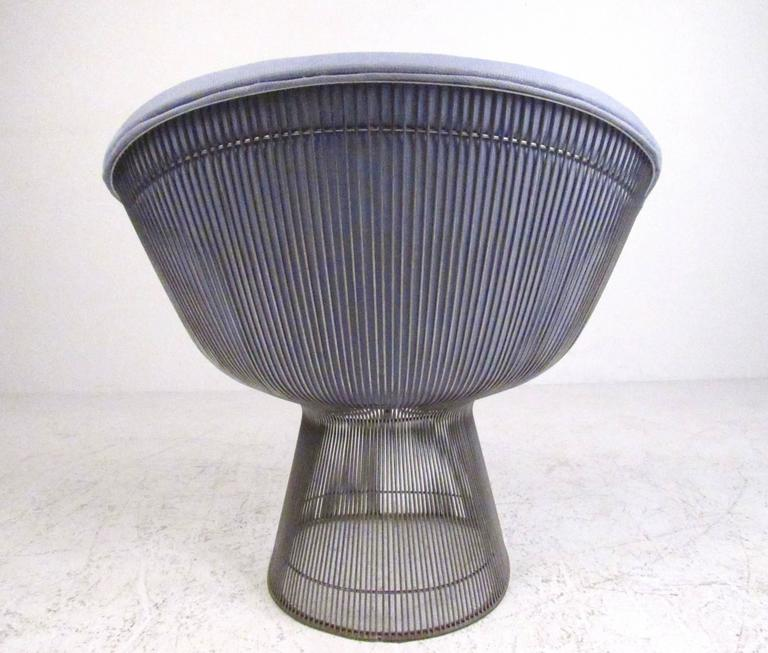 Pair of Vintage Modern Warren Platner Lounge Chairs for Knoll 5