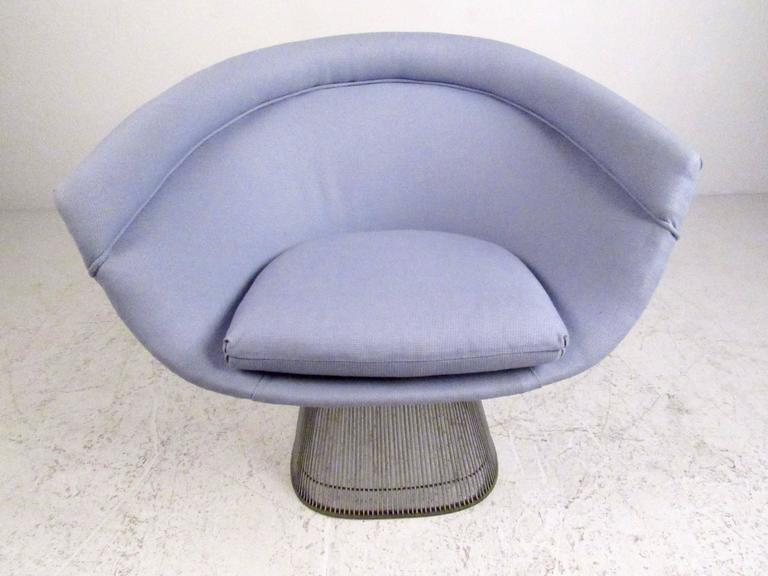 Pair of Vintage Modern Warren Platner Lounge Chairs for Knoll 3