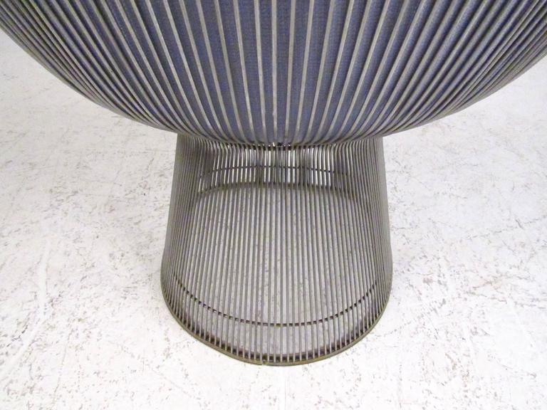 Pair of Vintage Modern Warren Platner Lounge Chairs for Knoll 6