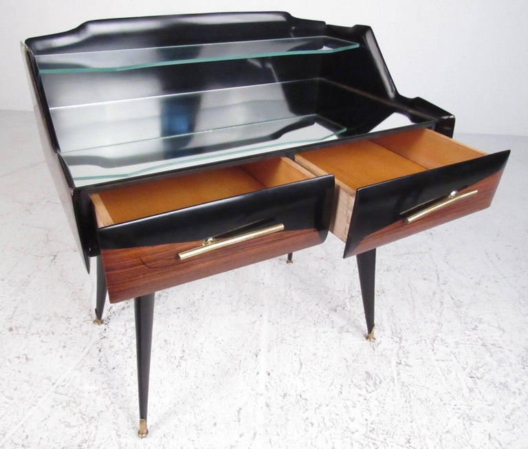 Pair Italian Modern End Tables by Paolo Buffa For Sale 2