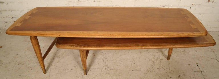 Mid-Century Modern Mid-Century Boomerang Table by Lane For Sale