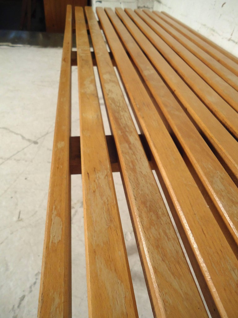 Mid-20th Century Mid-Century Modern Slat Bench / Table For Sale