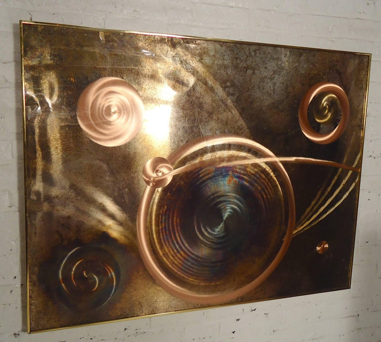 Copper Etched Artwork By Dale Clark At 1stdibs