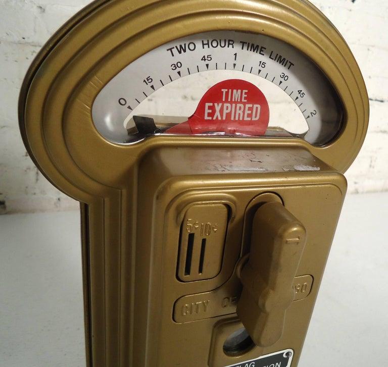 Vintage Duncan Miller Parking Meter Table Lamp For Sale 3
