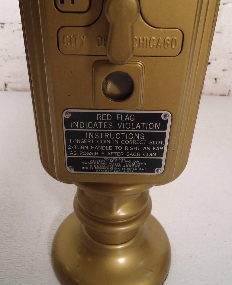 Vintage Duncan Miller Parking Meter Table Lamp For Sale 1