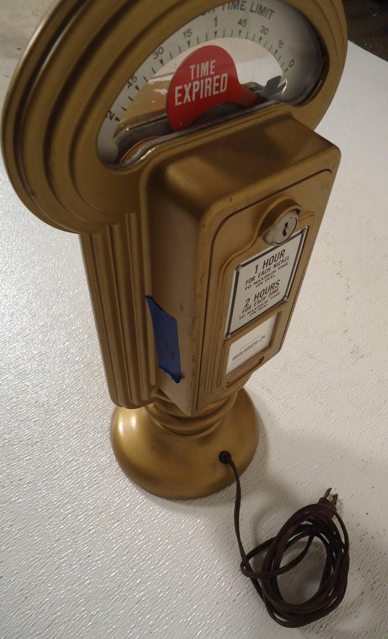 Vintage Duncan Miller Parking Meter Table Lamp For Sale 4