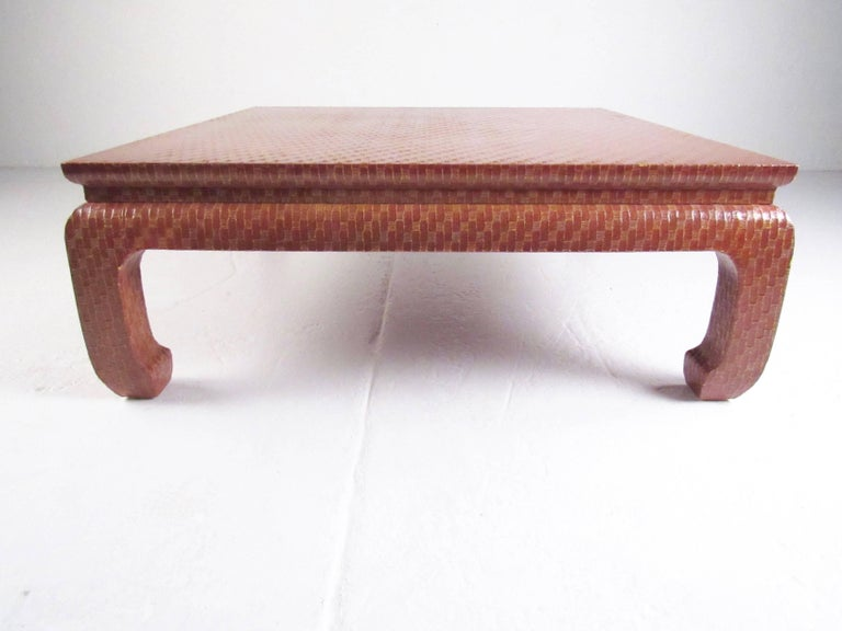 This Stylish Vintage Modern Coffee Table By Baker Furniture Makes An Impressive Centre Piece To Any