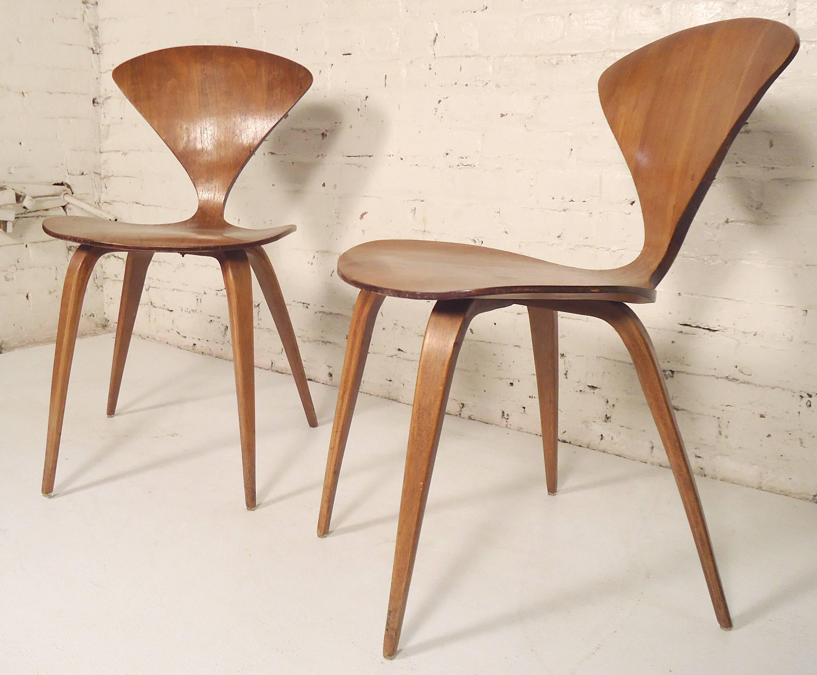 plycraft bentwood chairs by norman cherner 2