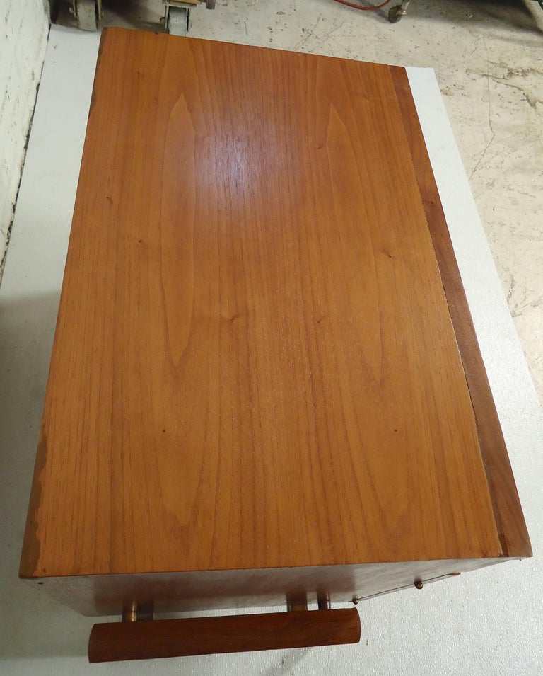 Mid-Century Modern Rare Midcentury Nightstand or Cabinet For Sale