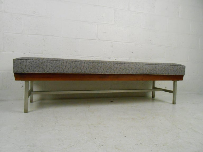 Unique Mid Century Modern Bench For Sale At 1stdibs