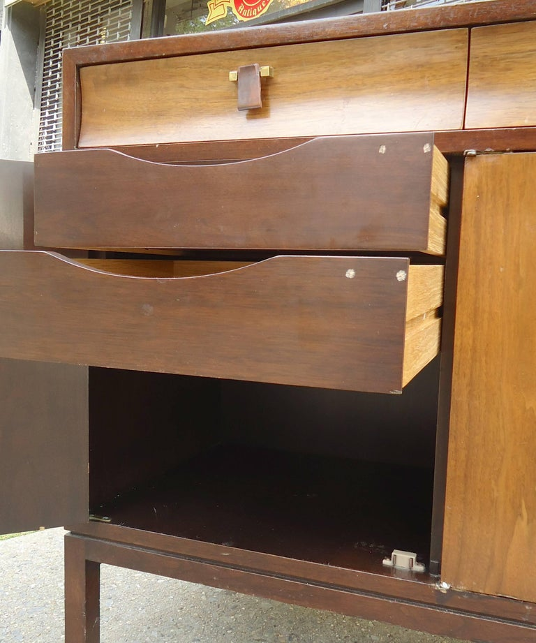 Wood Credenza by Edward Wormley for Dunbar For Sale