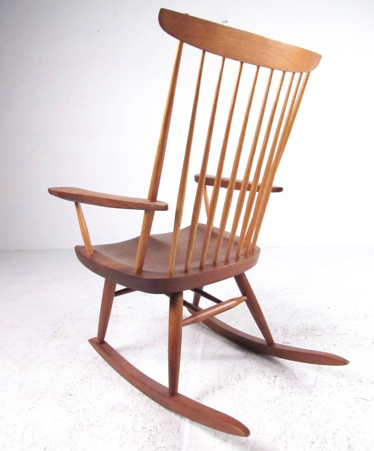 """New Used Pilates Chair For Sale: George Nakashima """"New"""" Chair Rocker For Sale At 1stdibs"""