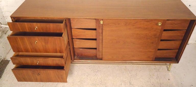 Wood John Stuart Midcentury Credenza For Sale