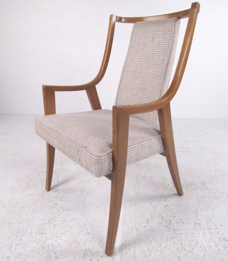 American Stylish Set of Six Harvey Probber Dining Chairs For Sale