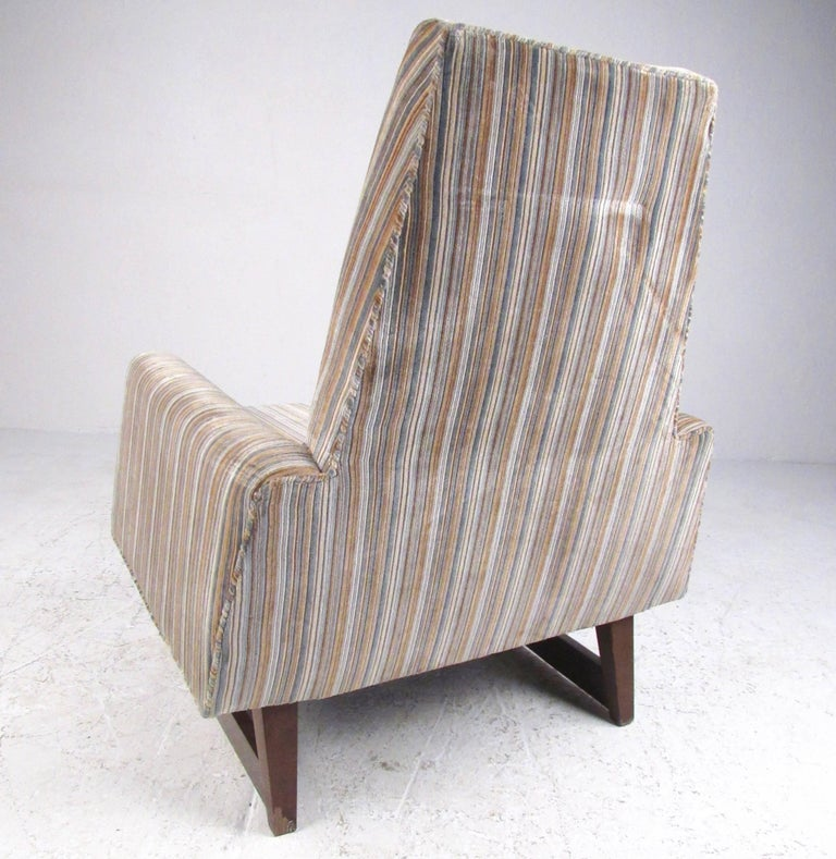 Mid-Century Modern Vintage Modern Adrian Pearsall Style Lounge Chair For Sale