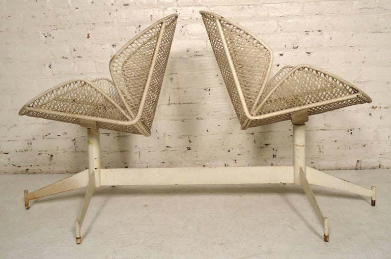 Maurizio Tempestini Double Chair Outdoor Seating For Sale 2