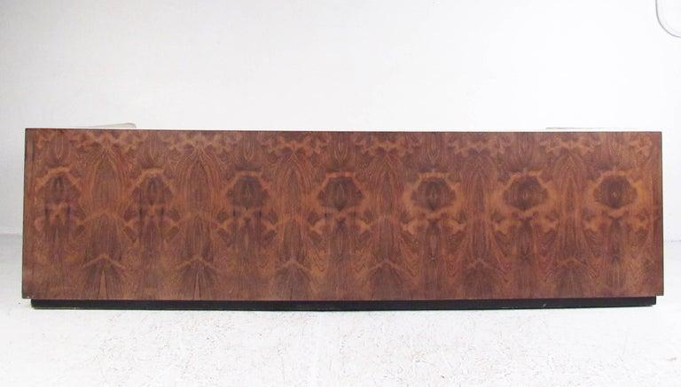 Mid-Century Modern Vintage Milo Baughman Rosewood Frame Sofa for Thayer Coggin For Sale
