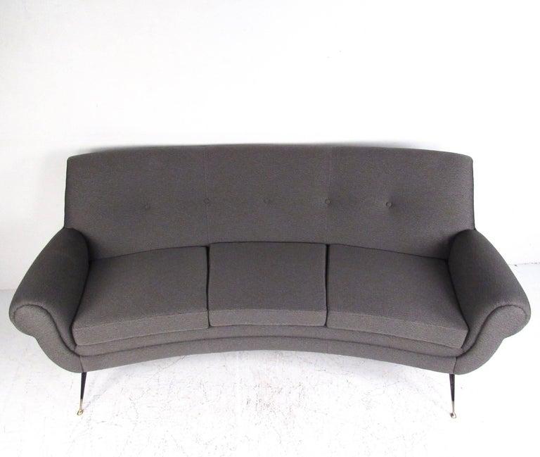 Mid-Century Modern Vintage Italian Modern Sofa by Gigi Radice For Sale
