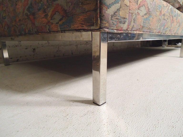 Mid-Century Modern Milo Baughman Long Sofa For Sale