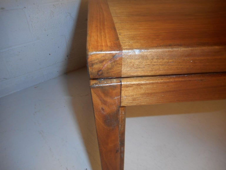 Jens Risom Executive Desk with a Finished Back For Sale 7