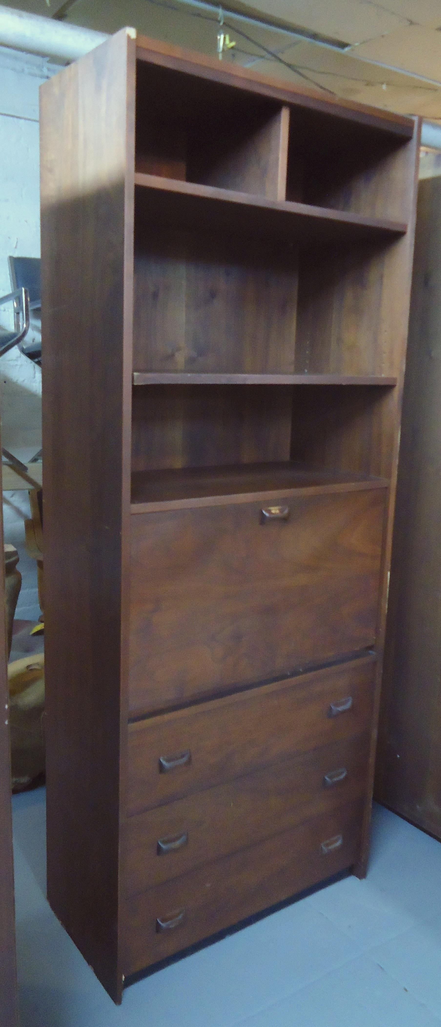 Tall Midcentury Bookcase 1 Of 3