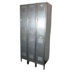 Set of Large Industrial Lockers
