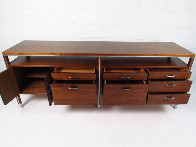 mid-century modern office credenzadirectional at 1stdibs