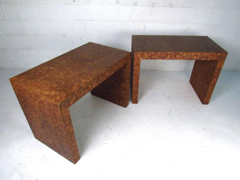 Wonderful This Listing Is For One Of The Two Available Tables, Unique Burl Cork  Veneer And