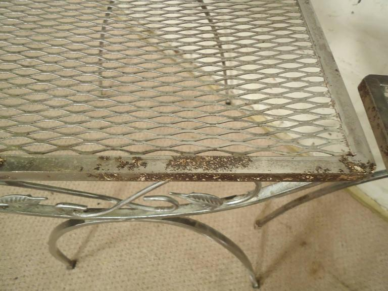 Salterini Style Metal Nesting Tables For Sale At 1stdibs