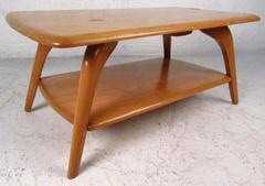 Mid-Century Two Tier Maple Coffee Table By Brewster-Beauchemin